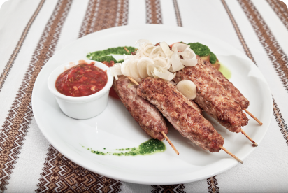 Greek-Inspired Grilled Turkey Sausage Brats