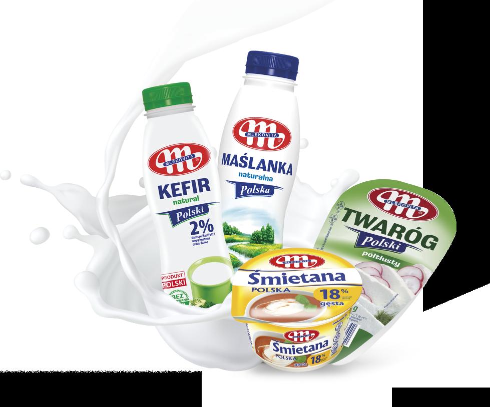Top 5 polnische Milchprodukte